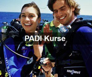 PADI Kurse